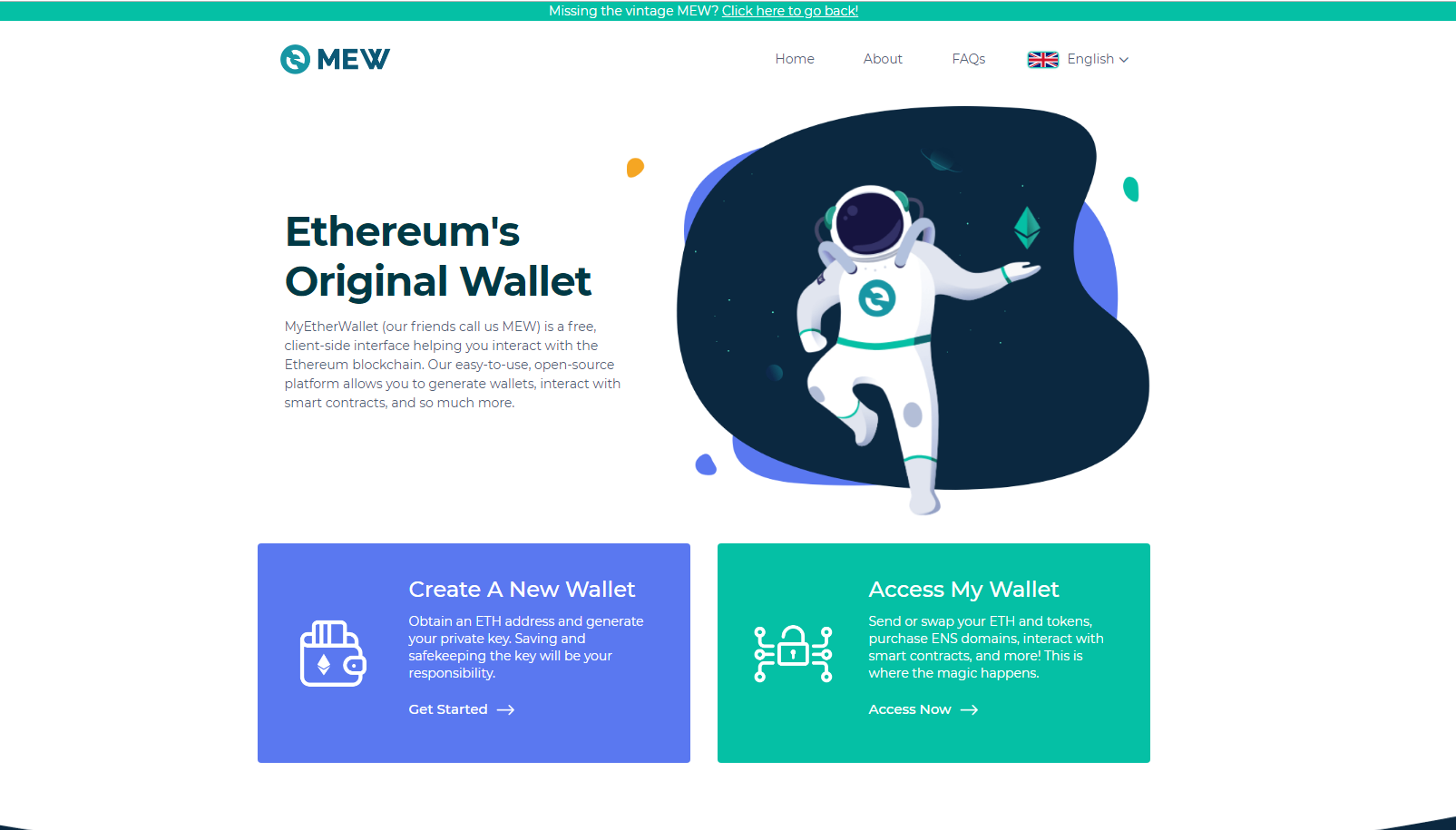 How to register and use MyEtherWallet (MEW)